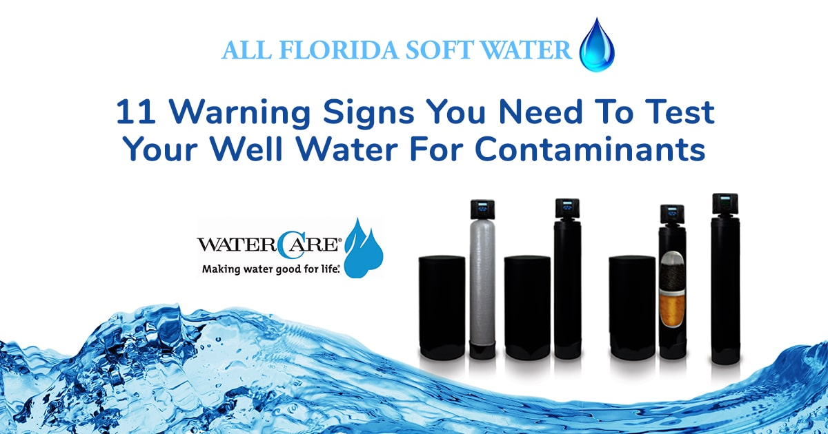 Whether you want to disinfect your water with UV light, get better drinking water with reverse osmosis, reduce levels of iron with a filtration system, or eliminate the problems hard water can cause using a water softener, All Florida Soft Water will be able to help you find a solution.