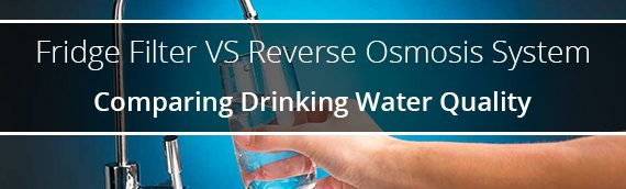 Fridge Filter or Reverse Osmosis System? | Comparing Drinking Water Quality