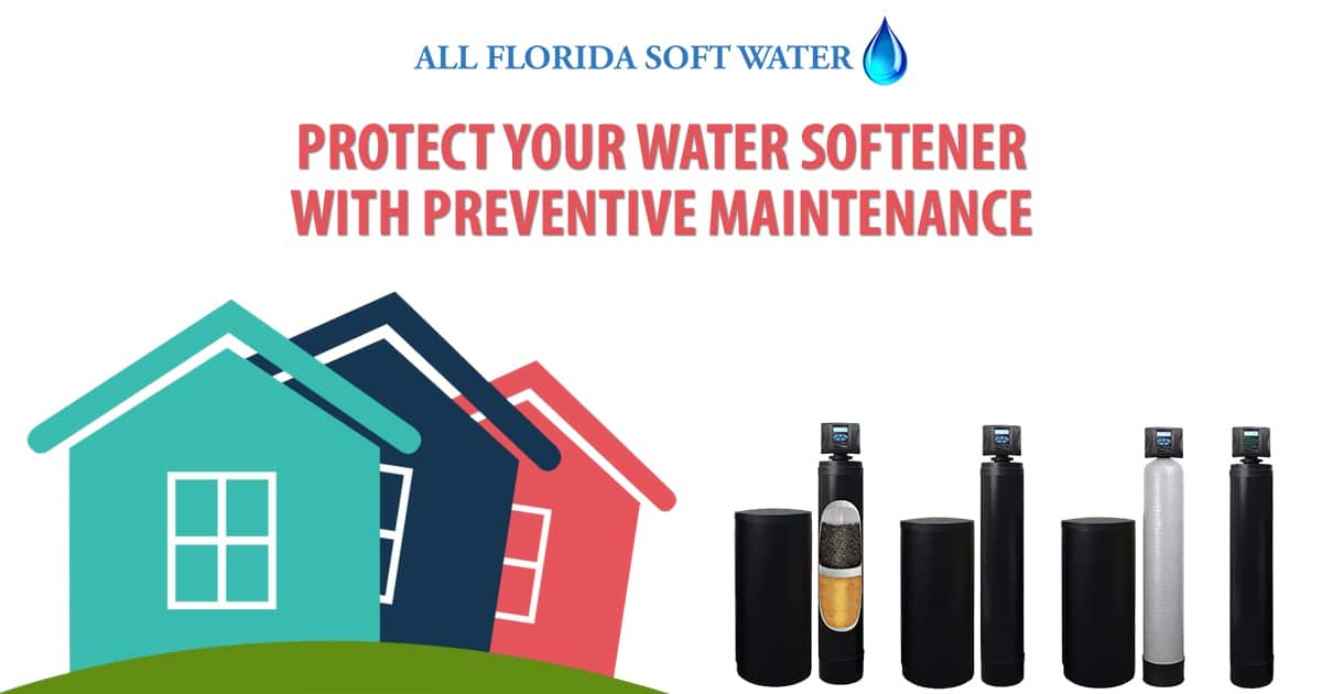 water softener preventive maintenance in jacksonville and nocatee