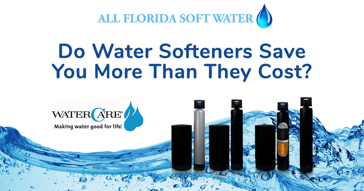 do water softeners actually save you money